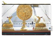 Buddhist Dharma Wheel Carry-all Pouch