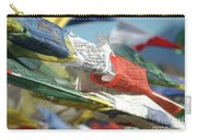 Buddhist Prayer Flags Carry-all Pouch