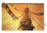 Buddhist Stupa- Nepal Carry-all Pouch