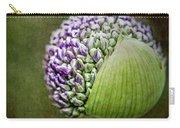 Budding Allium Carry-all Pouch