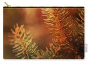 Budding Pine Cone Tree Carry-all Pouch
