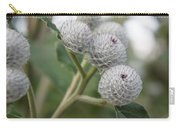 Budding Thistle Carry-all Pouch