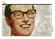 Buddy Holly By Mary Bassett Carry-all Pouch
