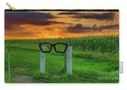 Buddy Holly Glasses Carry-all Pouch