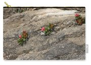 Buds Of Beauty Within Harshness Carry-all Pouch