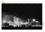 Budwesier Brewery Lightning Thunderstorm Image 3918  Bw Carry-all Pouch