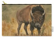 Buff Buffalo  Carry-all Pouch