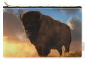 Buffalo At Dawn Carry-all Pouch