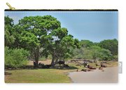 Buffalo At Hambantota Carry-all Pouch