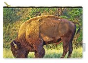 Buffalo Custer State Park  Carry-all Pouch