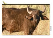 Buffalo Encounter Carry-all Pouch