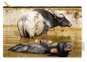 Water Buffalo Family Portrait Carry-all Pouch