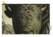 Buffalo Head Carry-all Pouch