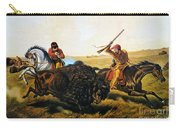 Buffalo Hunt, 1862 Carry-all Pouch