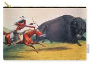 Buffalo Hunt, C1832 Carry-all Pouch