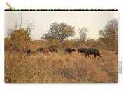 Buffalo In The Timbavati Carry-all Pouch