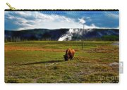Buffalo In Yellowstone Carry-all Pouch
