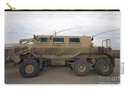 Buffalo Mine Protected Vehicle Carry-all Pouch by Terry Moore