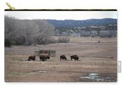 Buffalo New Mexico Carry-all Pouch