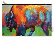Buffalo On Weed Carry-all Pouch