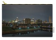 Buffalo Skyline At Night Carry-all Pouch