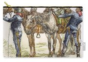 Buffalo Soldiers, 1886 Carry-all Pouch