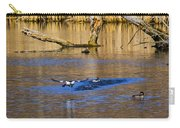 Bufflehead Taking Off Carry-all Pouch