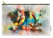 Bug Watercolor Carry-all Pouch by Michael Colgate