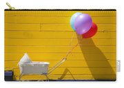 Buggy And Yellow Wall Carry-all Pouch by Garry Gay