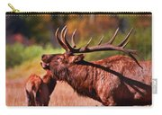 Bugling Elk In Autumn Carry-all Pouch