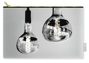 Bulbs - Black And White Carry-all Pouch