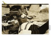 Bulgarian Market Lady Carry-all Pouch