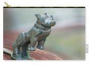 Bull Dog Hood Ornament Carry-all Pouch