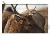 Bull Elk At Hardware Ranch 2 Carry-all Pouch
