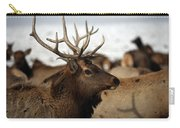 Bull Elk At Hardware Ranch Carry-all Pouch