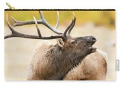 Bull Elk Bugling In The Fall Carry-all Pouch