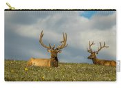 Bull Elk Friends For Now Carry-all Pouch