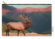 Bull Elk On Trail Ridge Road Carry-all Pouch