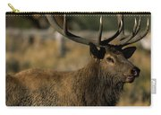 Bull Elk Profile Carry-all Pouch