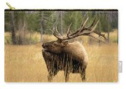 Bull Elk Sideview Carry-all Pouch
