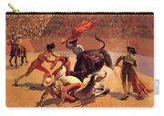 Bull Fight In Mexico 1889 Carry-all Pouch