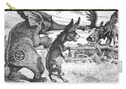 Bull Moose Campaign, 1912 Carry-all Pouch by Granger
