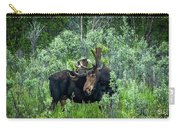 Bull Moose In The Bushes Carry-all Pouch