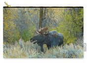 Bull Moose In The Evening Carry-all Pouch