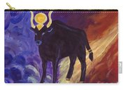 Bull Of Heaven Carry-all Pouch