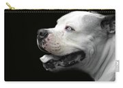 Bulldog Sando  Portrait  Carry-all Pouch