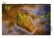 Bullfrog In Water Carry-all Pouch