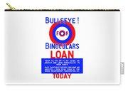 Bullseye For Binoculars Carry-all Pouch