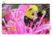 Bumble Bee And Flower Carry-all Pouch