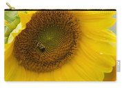 Bumble Bee And The Sunflower Carry-all Pouch